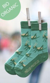 Grashüpfer Socke Damen BIO