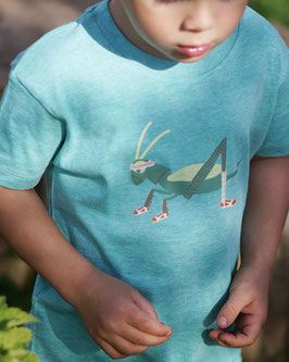 T-Shirt mit Druck sporty Grashüpfer