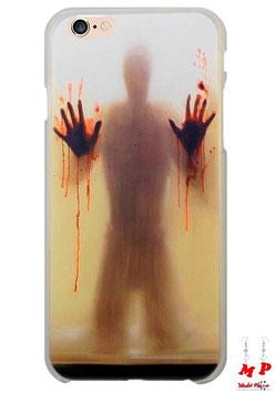 Coque iPhone 6/6s horreur - Homme aux mains pleines de sang