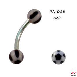 Piercing arcade boules acrylique petite étoiles