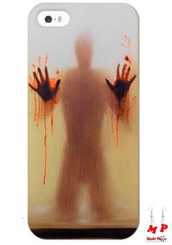 Coque iPhone 5/5s horreur - Homme aux mains pleines de sang