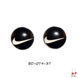 Boucles d'oreilles logo Nike