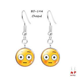 Boucles d'oreilles pendantes Emoji - Émoticônes