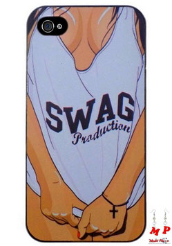 Coque iPhone 4/4s - Swag production