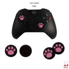 Grips de protection en silicone à pattes de chiens pour joysticks de manettes PS3/ps4/Xbox 360/Xbox One/Wii U