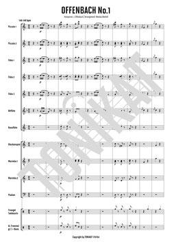 """OFFENBACH No.1 - Cancan aus der Operette """"Orpheus in der Unterwelt"""""""