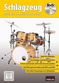 SCHLAGZEUG - SCHNELL UND EINFACH LERNEN (DVD)