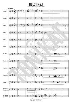 """HOLST No.1 - Thema 4. Satzes (Jupiter) aus """"The Planets Suite"""""""