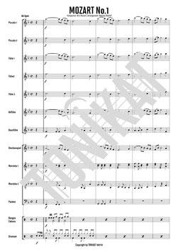 MOZART No.1 - Thema aus dem 2. Satz, Konzert A-Dur, KV 622