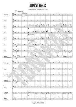 """HOLST No.2 - Marsch aus der """"Second Suite for Military Band"""""""