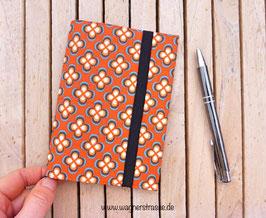 Notizbuch mit Hülle für orange Taschenkollektion