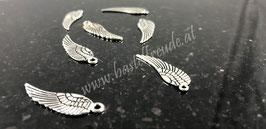 Engel Flügel antiksilber