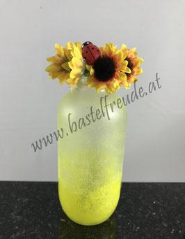 Flasche gelb Sonnenblume