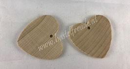 Herz Holz Schlüsselanhänger