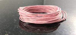 Wachsschnur rosa