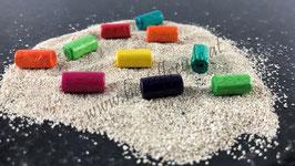Perlen Zylinder Mix