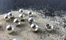 Perlen versilbert