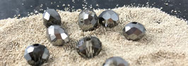 Perle facettiert