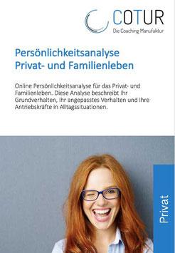 Persönlichkeitsprofil Privat- und Familienleben