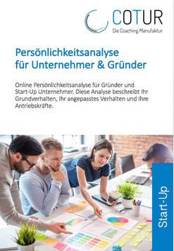 Persönlichkeitsanalyse für Unternehmender und Gründer
