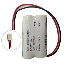 Pacco batterie 2 x AA LS14500 SAFT   compatibile con i sistemi SELECT