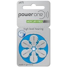 Pile  Powerone 675  PR44  per apparecchi acustici