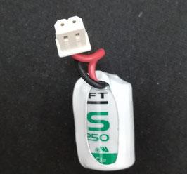 Pila  Litio SAFT  LS14250 1/2 AA   con connettore compatibile  antifurto  SELECT