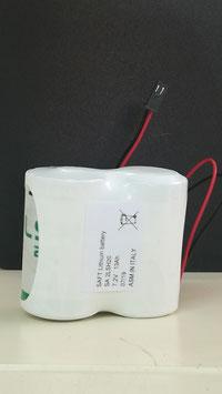 Pacco batteria Litio SAFT 2LSH20 2 x D     compatibile con  antifurto AVS