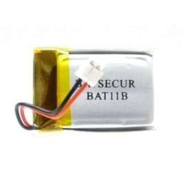 Batteria RICARICABILE  Lipo BAT 11 B  3,6V   270 mAh  compatibile BATLi11B  DAITEM LOGISTY