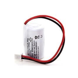 Pila  Litio CR2  con connettore compatibile allarmi CSI