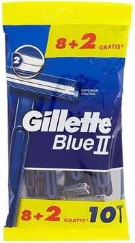 Confezione 10 rasoi usa e getta Blue II  Gillette