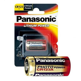 PILE  LITIO CR123 (CR17345)  3V   PANASONIC