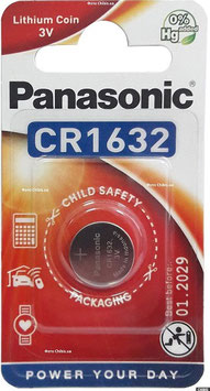 PILA LITIO CR1632 3V  PANASONIC