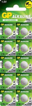 10 PILE  ALCALINE  LR44  A76  GP