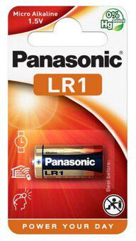 Pila LR01  MN9100  LR1  E90  1,5V  PANASONIC