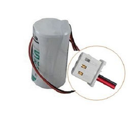 PILA  SAFT D LSH20  con connettore compatibile   antifurto TECNOALARM