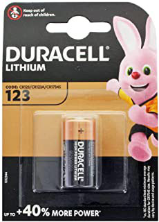 10 PILE LITIO CR123 3V    (CR17345)  DURACELL