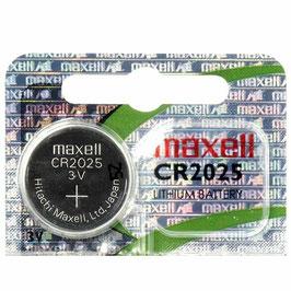 PILE LITIO CR2025 3V  MAXELL CON OLOGRAMMA