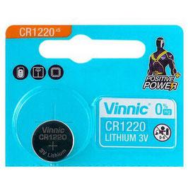 PILA LITIO CR1220  3V  VINNIC