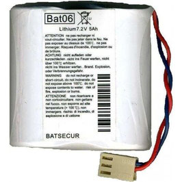 PILA BAT06  BATSECUR  COMPATIBILE BATLi06  DAITEM LOGISTY