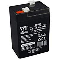 Batteria ricaricabile al piombo  6V   4,5 Ah