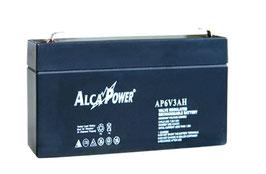 Batteria ricaricabile al Piombo  6V  3,3 Ah