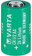 Pila VARTA 14250   1/2AA Mezzastilo Litio 3,00V  per sensori d'allarme ecc.