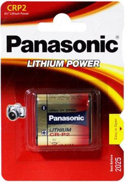 PILA LITIO DL223  CR-P2  6V   PANASONIC