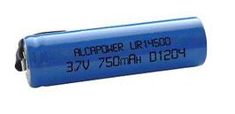 Batteria Litio CR 14500 AA Litio ricaricabile Alcapower con lamelle