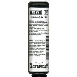 BATTERIA BAT28  COMPATIBILE BATLi28 E BATLi38 DAITEM LOGISTY