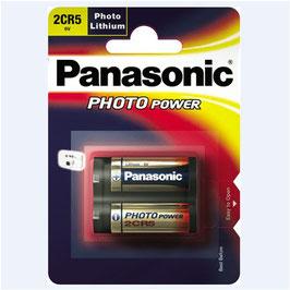 PILA LITIO 2CR5 DL245 6V   PANASONIC