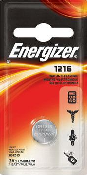 PILA LITIO CR1216  3V  ENERGIZER