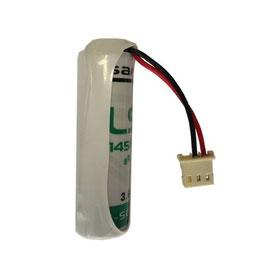 Pila  SAFT   AA  LS14500 con connettore compatibile TECNOALARM