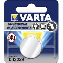 PILA LITIO CR2320 3V  VARTA